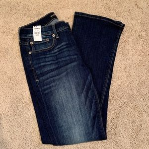 Women's Brand New Express Barely Boot Jeans